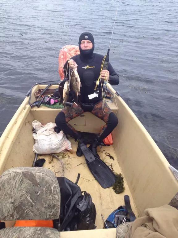 Подводная рыбалка в Астрахани