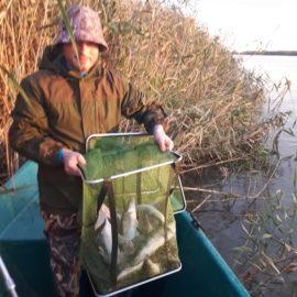 Чем может порадовать рыбалка на раскатах Волги в Астраханской области?